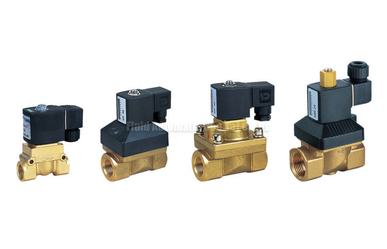 5Mpa High Pressure 2 Way Pneumatic Solenoid Valve Burket Equivalent
