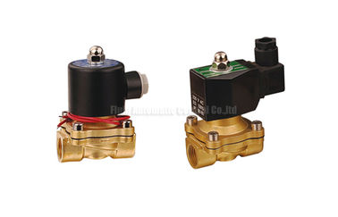 "চীন 16~50mm Orifice 2/2 Brass Pneumatic Solenoid Valve G1/2""~G2"" With Viton Seal পরিবেশক"