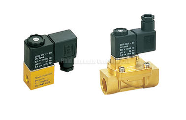 "চীন 2V Series Brass 2 Position 2 Way Pneumatic Solenoid Valve G1/4"",Orifice 2.5mm পরিবেশক"