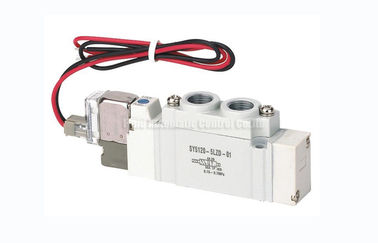 চীন SY5120 G1/4 Two Position Five Way Solenoid Valve SMC Equivalent পরিবেশক