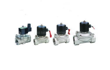 "চীন Stainless Steel Solenoid valve two position two way,port size G1/8""~G2"" পরিবেশক"